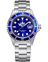 Men's PX002B 300M Dive Watch Swiss Quartz Blue Sport Watch
