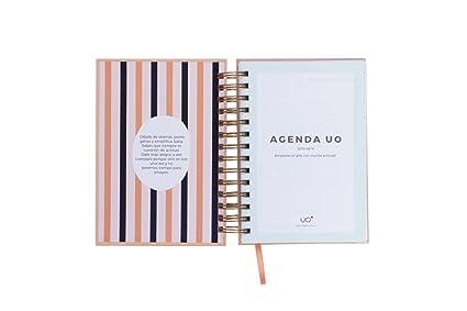 UO AG189MDMG2 - Agenda 2018-2019 día página, diseño Less Dramas