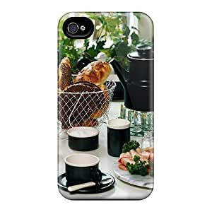 New Style AnnetteL Hard Case Cover For Iphone 4/4s- Rich Breakfast by mcsharks