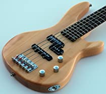 NEW NATURAL BEAUTY PRO QUALITY 5 STRING BASS GUITAR