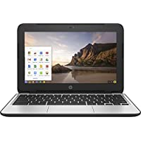 HP 11.6-Inch Chromebook (Intel Dual-Core Celeron N2840 2.16GHz, 2GB RAM, 16GB SSD, HD Display (1366 x 768), HD Webcam, Bluetooth, HDMI, Chrome OS)