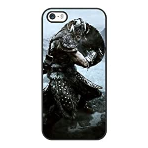 Custom made Case,the Elder Scrolls PC Plastic Cell Phone Case for iPhone 5 5S SE,Black Case With Screen Protector (Tempered Glass) Free S-6639195
