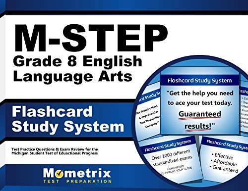M-STEP Grade 8 English Language Arts Flashcard Study System: M-STEP Test Practice Questions & Exam Review for the Michigan Student Test of Educational Progress (Cards) by Mometrix Media LLC
