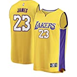 FAST BREAK Lebron Lakers Replica Jersey Yellow - Statement Edition