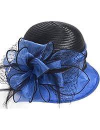 d603f832968ef Kentucky Derby Dress Church Cloche Hat Sweet Cute Floral Bucket Hat