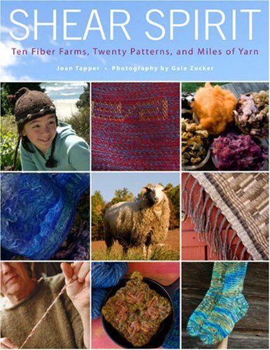 Shadow Knitting Patterns (Shear Spirit: Ten Fiber Farms, Twenty Patterns, and Miles of Yarn)