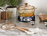 Visions 5 Litre Pyroceram Diamond Casserole with