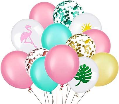 Amazon.com: Globos decorativos para fiestas hawaianas, 45 ...