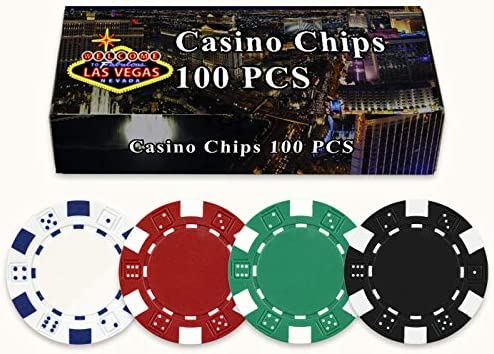 100 fichas de póquer de 11,5 gramos en caja de regalo de Welcome ...