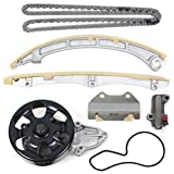 TK10250WP Brand New (176 Links) Timing Chain Kit and Water Pump Set For K24A1 K24A2 K24A4 K24A8