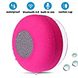 BONBON Bluetooth Shower Speaker Waterproof Water...