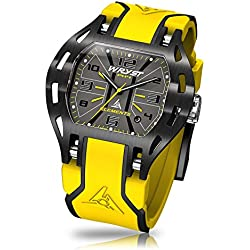 Yellow Sport Watch Wryst Elements PH4 for Men