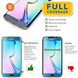 ArmorSuit MilitaryShield - Samsung Galaxy S6 Edge Screen Protector [Full Coverage] w/ Lifetime Replacements - Anti-Bubble Ultra HD Premium Shield - Clear