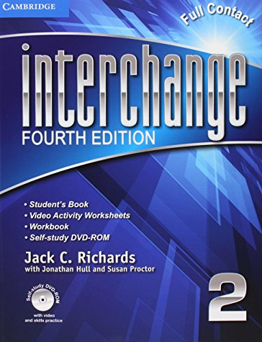 Interchange Level 2 Super Value Pack Full Contact with Self-Study DVD-ROM and Online Workbook