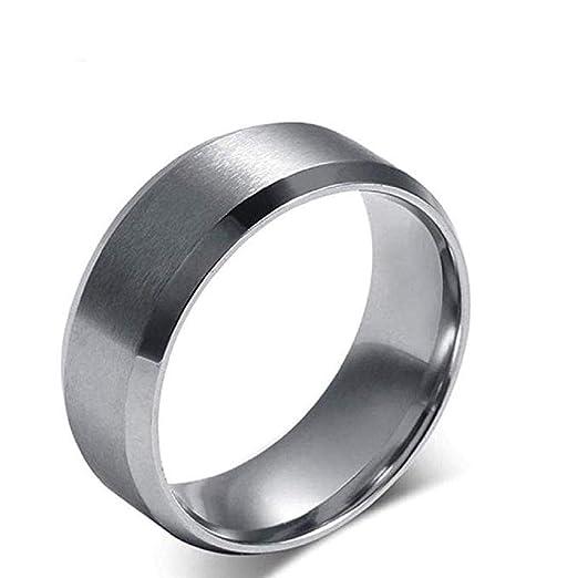 Scpink Anillo, anillo simple de la venda de boda del ...