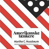 Martha C. Nussbaum (Amerikanske tænkere)   Astrid Nonbo Andersen, Christian Olaf Christiansen