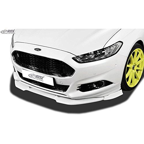RDX Racedesign RDFAVX30780 spoiler anteriore vario-x Mondeo V st-line 2014- (PU), nero