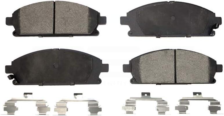 Front Ceramic Brake Pad Set TEC-855
