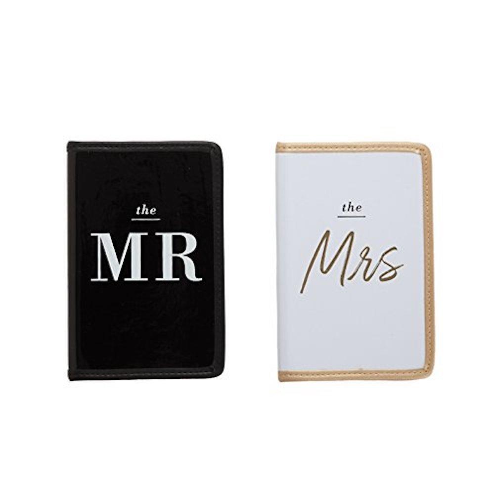 Two's Company Honeymooners Passport Case Set in Gift Box