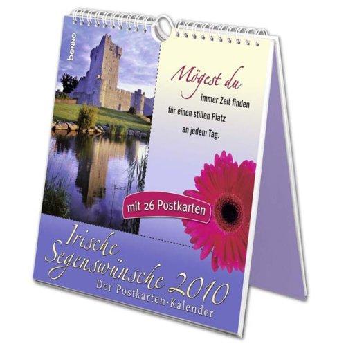Irische Segenswünsche 2010: Der Postkarten-Kalender