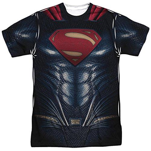 justice+league Products : Superman Uniform - Justice League Movie All Over Print T-Shirt