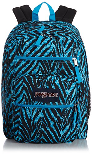 JanSport Big Student Classics Series Backpack - Mammoth Blue Wild At (Big Student Pack)