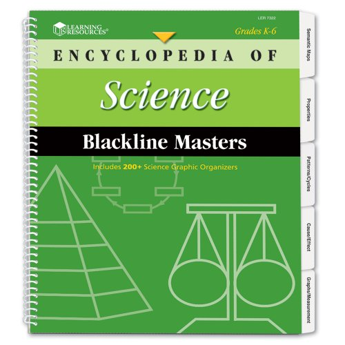Learning Resources Encyclopedia Of Science Blackline Masters