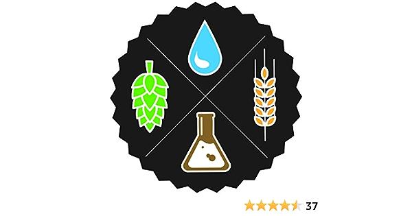Home Brewing Craft Mash Malt Symbol Beer Mug and Hops Car Tablet Vinyl Decal