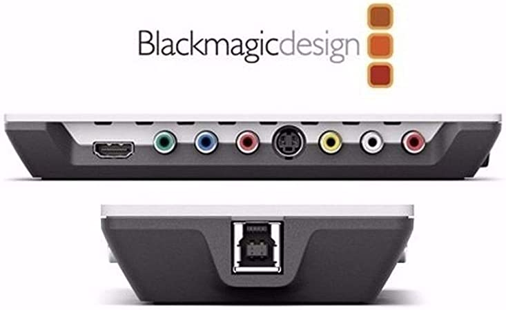 Amazon Com Blackmagic Design Intensity Shuttle For Thunderbolt Electronics