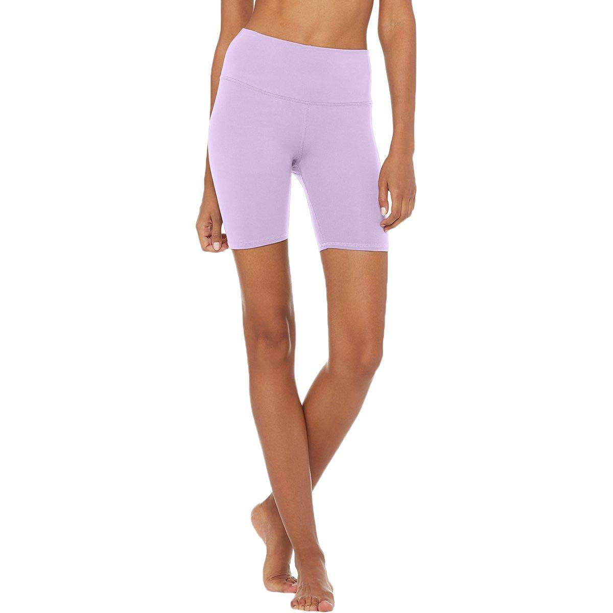Alo Yoga High-Waist Biker Short - Womens Ultraviolet, S at ...