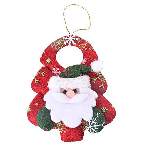 Gome Z 2Pcs New Christmas Ornaments Christmas Tree Santa Claus Pendants Drop Christmas Decorations For Home Decoracion Navidad 14Cm A