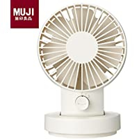 MUJI USB Tabletop Fan [Oscillating Type - White]