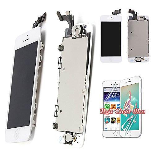 For iPhone 5 Screen Replacement LCD - New Display With...