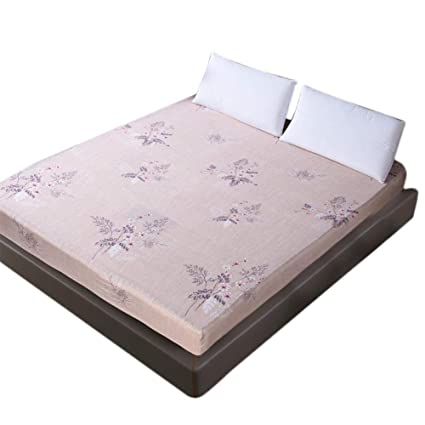Cubierta de colchón impermeable, Cubierta de cama protectora de alergia antimite de colchón doble/
