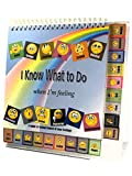 Thought-Spot® I Know What to Do Cards for Taking Control of Your Feelings/Emotions; 18 Emoji Cards to Help Children Identify Their Feelings & Emotions and Express Them in a Positive Manner