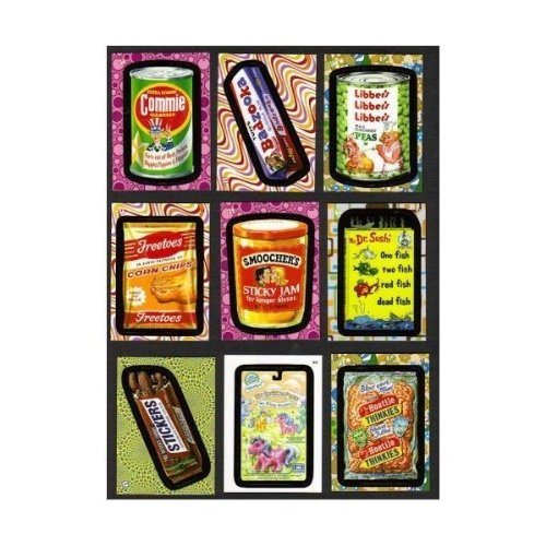 2008 Wacky Packages Flashback Series 2 Parody Stickers Complete Base Set of 72