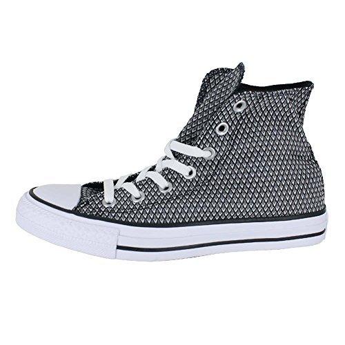 Converse Unisex Chuck Taylor All Star Hi Top (6 B(M) US, White Black White)