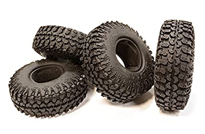 Integy RC Hobby C25176 1.9 Size All Terrain (4) Off-Road Tires Tire Type W (O.D.=114mm)