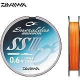 ダイワ(Daiwa) PEライン エメラルダスセンサー SS III +Si 150m 0.6号 9lb オレンジ