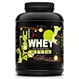 Atomic Whey Protein Powder for Muscle Building, Repair & Recovery, 21g Protein, 50