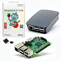 Argon Forty Raspberry Pi 3 Model B and Official Case Kit