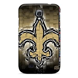 Excellent Galaxy S4 Case Tpu Cover Back Skin Protector New Orleans Saints