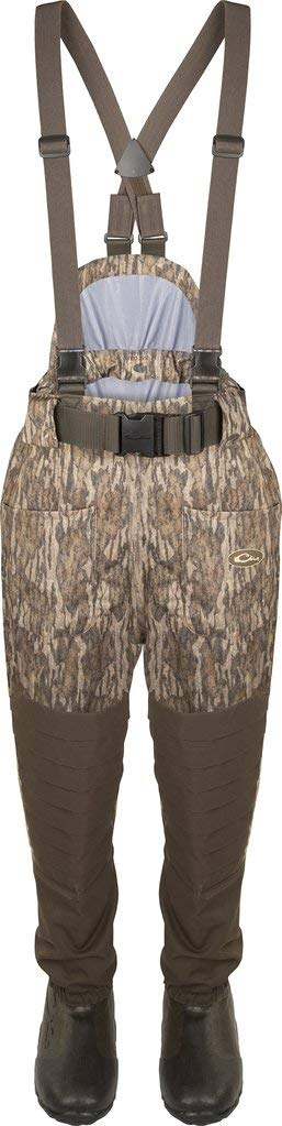 Drake Guardian Elite Uninsulated Breathable Waist-High Waders, Color: Blades, Size: Size 13 (DF1210-013-13)
