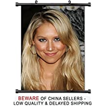 Anna Kournikova Tennis Player Fabric Wall Scroll Poster (16x23) Inches