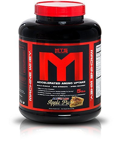 MTS Machine Whey Protein 5lbs. - American Apple Pie