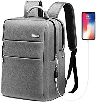 HOMIEE Business Travel Backpack with USB Charging Port for Women, Men