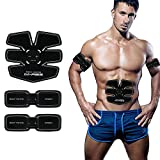 Abdominal Muscle Toner Abs Training Gear Body Fit Toning Belt Wireless Muscle Exercise For Abdomen IMATE Smart muscle Trainer Portable Home/Office Workout Equipment Support Men&Women