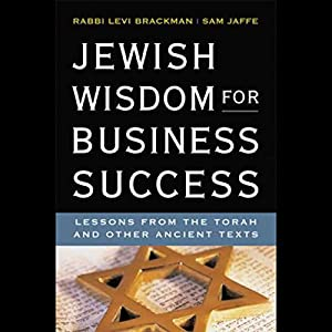 Jewish Wisdom for Business Success | Livre audio