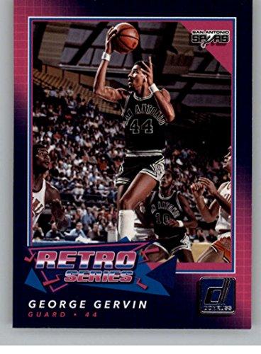 2017-18 Donruss Retro Series #12 George Gervin NM-MT Spurs