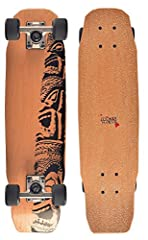 The Woody-Kick is 66cm (26 inch) long and extremely light. This board is extremely convenient to travel with and fits in almost every compartment. The Woody-KICK is the perfect partner for daily transportation. The board has no flex and is fo...